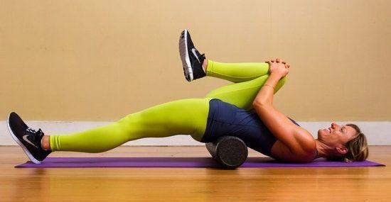 Seconda variante di esercizio per allungamento del muscolo Ielo Psoas