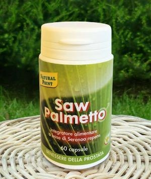 SAW Palmetto integratore Serenoa Repens capsule